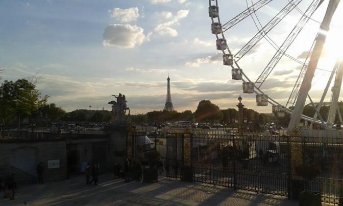 Dix Kilomètre à pied … Paris